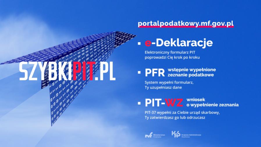 Szybki PIT - materiały informacyjne