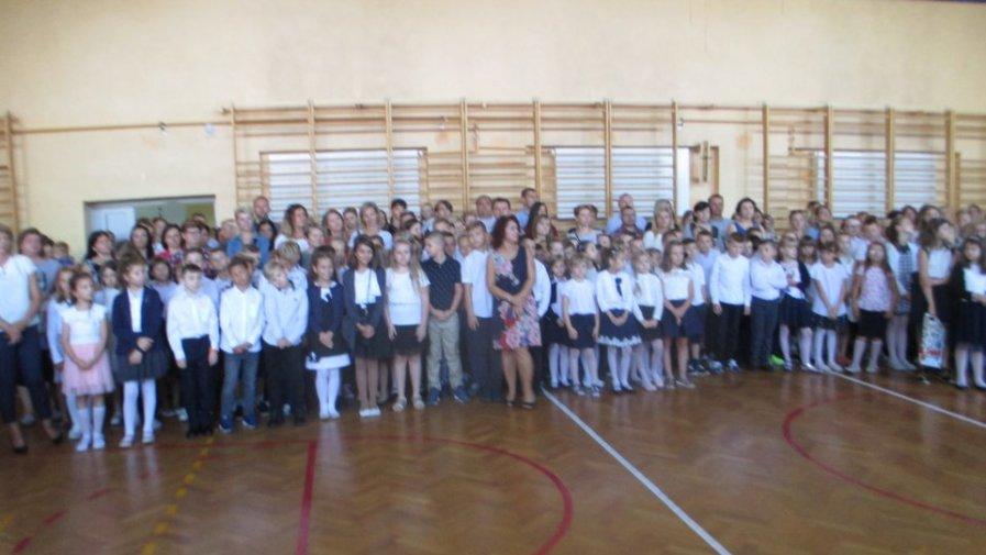 Pierwszy dzień szkoły w Okuniewie
